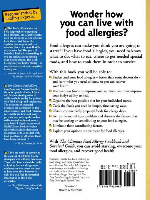 The Ultimate Food Allergy Cookbook and Survival Guide ...